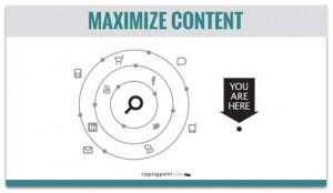 maximize content