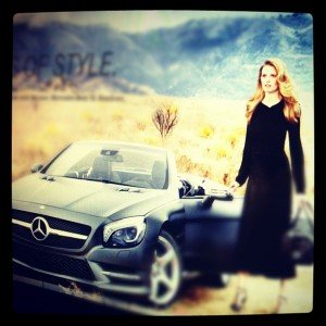 Beautiful Women, Fashion & Cars Work Together