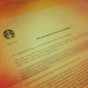Starbucks' CEO invites us to create content he can amplify